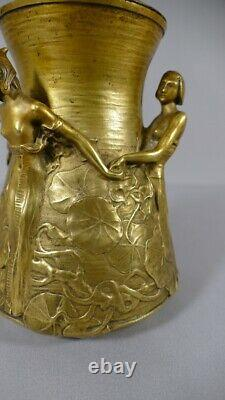 Alexandre Clerget, Brûle Parfum Art Nouveau Ronde De Jeunes Femmes, Siot Decauvi