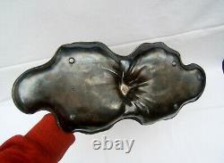 Ancien plat vide poche WMF femme a la coiffure art nouveau 1900 signé