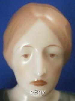Art Nouveau Jugendstil kpm Berlin Porcelaine Femme Figurine Porzellan Figur