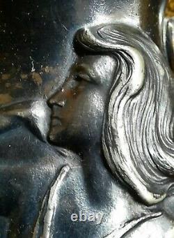 Art Nouveau WMF Britannia Wiener Secession jugendstil WMFB pichet femme nymphe
