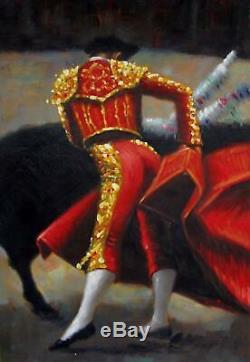 Belle femme 61 x 91cm étiré peinture huile toile art décoration murale mod014