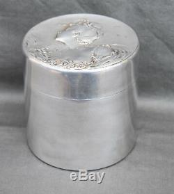 Boite En Argent Minerve Art Nouveau Jugendstil Silver Box Femme