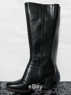Bottes Art Star 1143 Chaussures Femme 41 Gran Via Noir Cavalières Talon UK8 Neuf