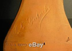 Buste de jeune femme Joseph LE GULUCHE art nouveau Jugend Style sculpture 43 cm