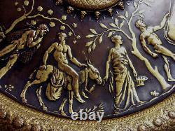 COUPE ancienne BRONZE par BARBEDIENNE et LEVILLAIN style Néo-grec Homme Femme