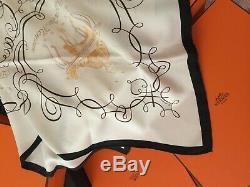 Carré foulard L' ART d' ECRIRE d'HERMES par Maurice Tranchant