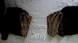 Ceinture et boucle de ceinture Epoque Art Nouveau French Jugendstil belt