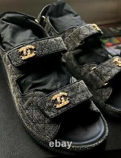 Chanel Dad Sandales / Chanel Sandals Special Edition Métiers d'arts