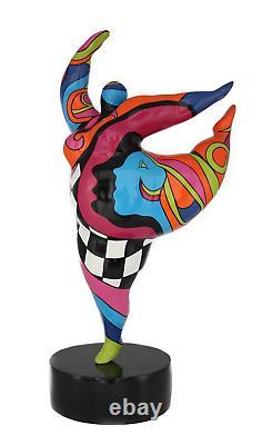 Dancing Ballerine Hommage à Niki de Saint Phalle -nana Molly Épaisseur Femme