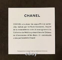 Exclusive CHANEL Metal KEY RING Bag CHARM Les Métiers d'ART SHOW 2020 2021 box