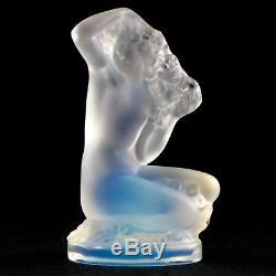 FEMME NUE Cristal Opalescent RENÉ LALIQUE FRANCE Art Nouveau Crystal Figurine
