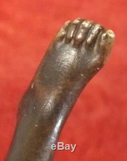 Femme bronze art nouveau Recipon la Chance