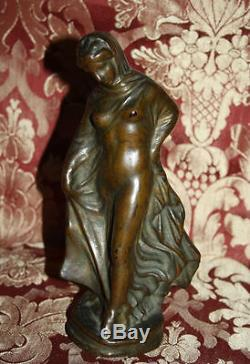 Femmes Nues. Bronze. Art Nouveau. Anonyme. Espagne. Xix-xx Siècle