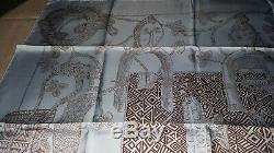 Foulard Hermès Ashanti d Annie Faivre Neuf jamais porté + boîte/ruban/sac
