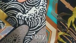 Foulard Hermès Exlibris en Kimonos Neuf jamais porté +boîte/sac/ruban