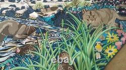 Foulard Hermès Into The Canadian Wild Neuf jamais porté +boîte/sac/ruban