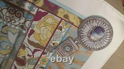 Foulard Hermès La Femme Aux Semelles De Vent Neuf +boîte/sac/ruban