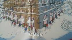 Foulard Hermès Noël Au 24 Faubourg Collector Neuf jamais porté +boîte/sac/ruban