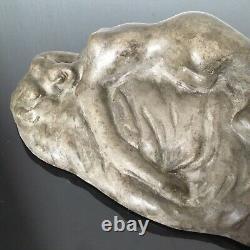 George Trinque (1844-1930) Sculpture Femme Nue Art Nouveau 1900 Jugendstil