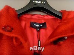 NEW MANTEAU BY PAULE KA Prêt à porter de luxe ROUGE ART. NEUF OFFRE 565