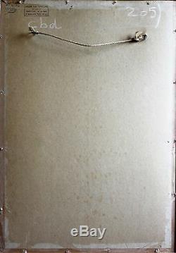 Paul MADELINE, Femme nue, dessin, pastel, France, Crozant, Creuse, Art, tableau