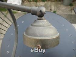 Pied de lampe art nouveau femme nue bronze