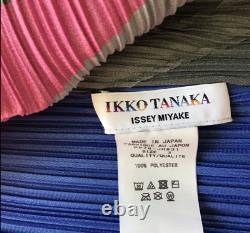 Pleats Please Ikko. Tanaka x Issey Miyake Grey Face Dress Size 3