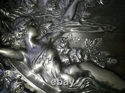 Porte cartes Art Nouveau femme nue 1900 WMF