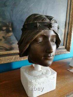 Portrait Femme Jean D'illzach (1847-1916)art Nouveau Cleo De Merode