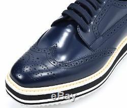 Prada Femme Chaussure Oxford Business Derby Classique Casual Cuir Art. 1e722e
