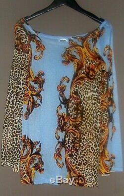 Pull By Liu. Jo Milano Imprimé Animalier T. M Art. Neuf Spécial Fêtes 139