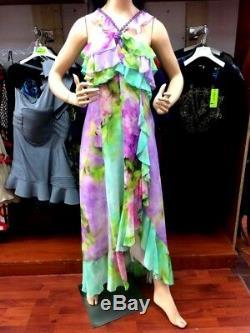 Robe (100%Soie) MARIA GRAZIA SEVERI Taille46 ArtP4 S 04553910 (Prix réduit)