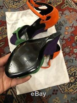 Sandales à talon PIERRE HARDY Daim pointure 37,5